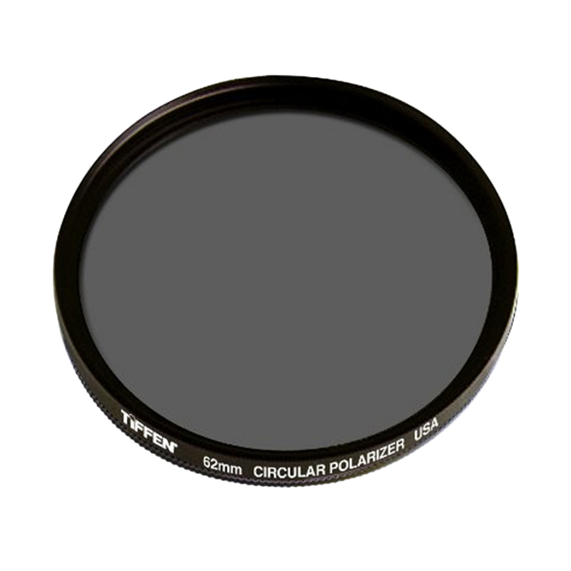 Universal Tiffen 62mm Circular Polarizing Filter Lensa