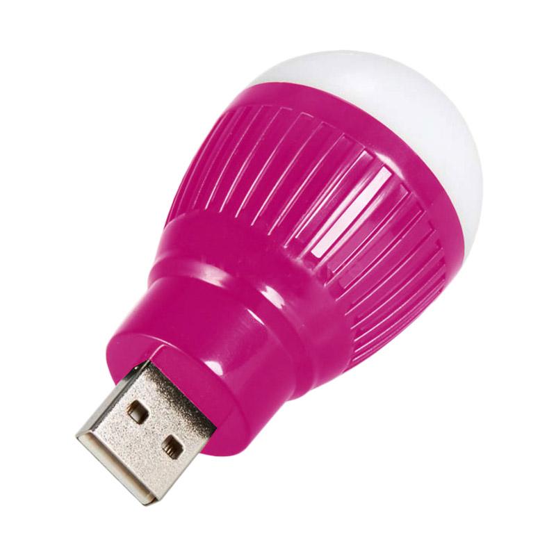 harga Universal Ungu USB Lampu LED Bulat Blibli.com