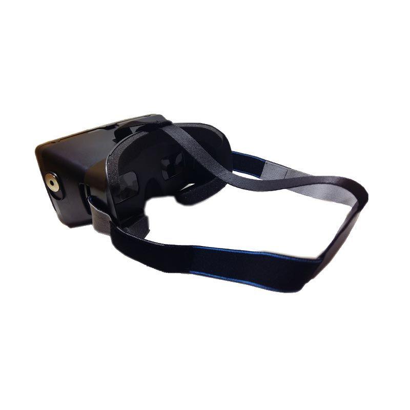 Gruu Black Plastic Google Cardboard VR Aksesoris Handphone