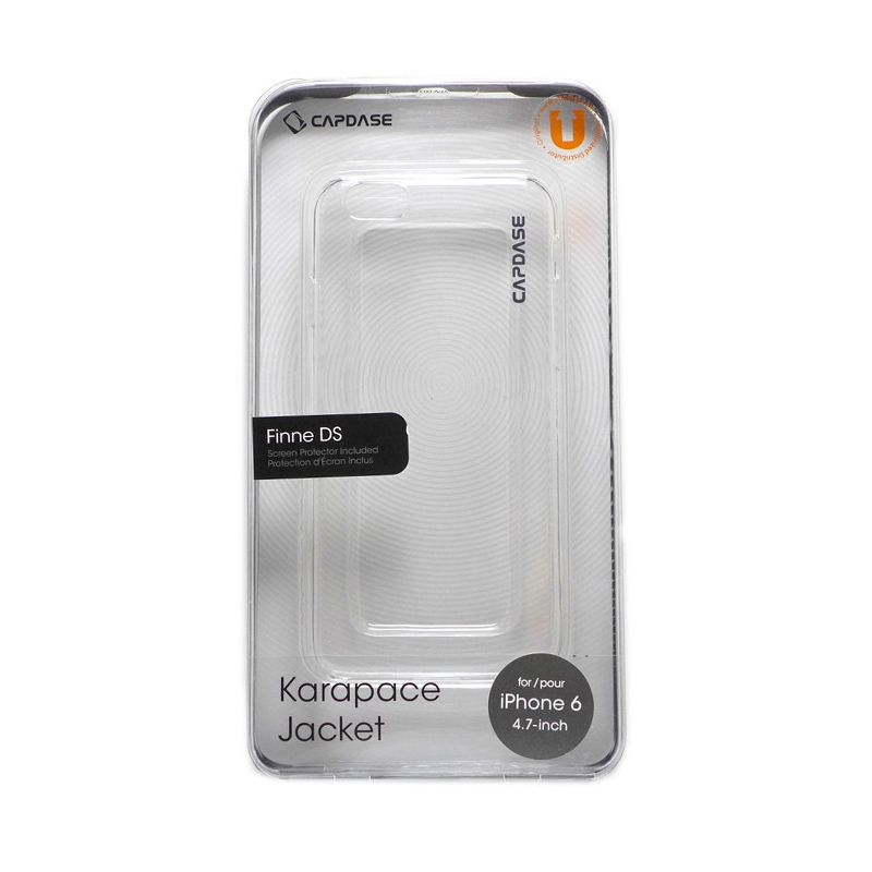 Capdase Clear Hard Case Casing for iPhone 6