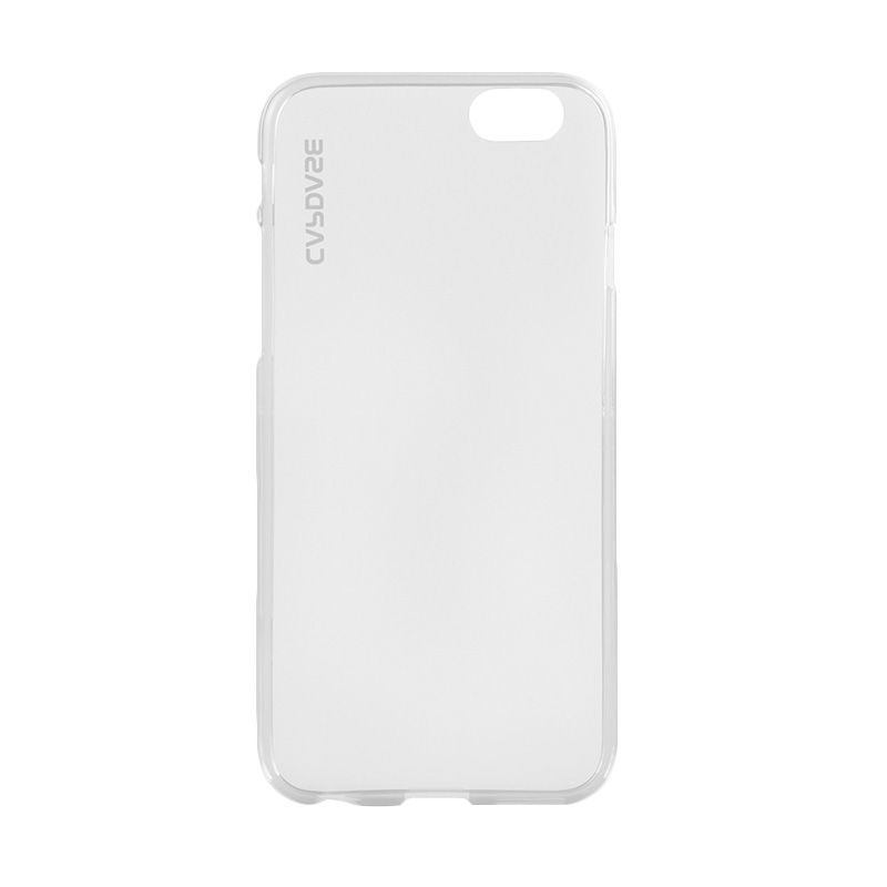 Capdase Xpose Plus Soft Jacket Tinted White Grey Casing and Pouch for iPhone 6 Plus or 6s Plus