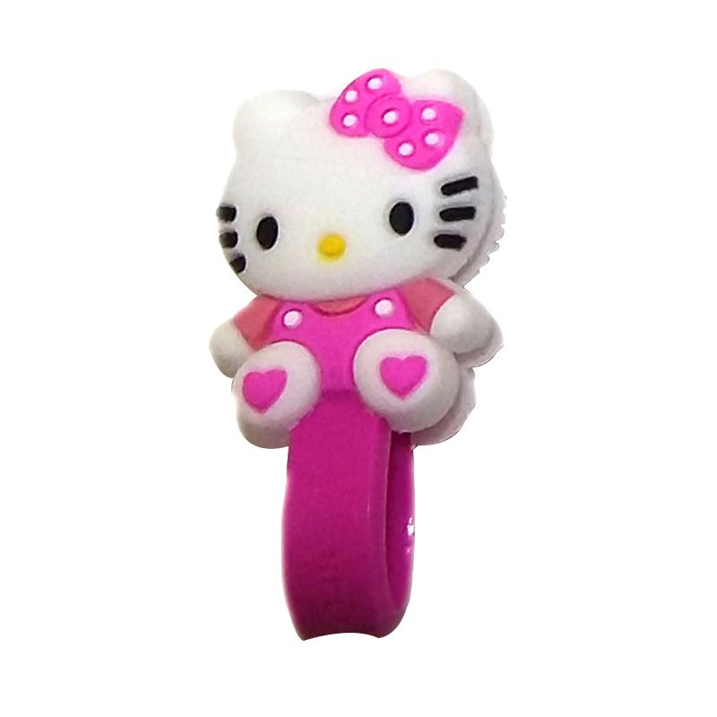 Cord Holder Hello Kitty Purple 115 Pengikat Kabel