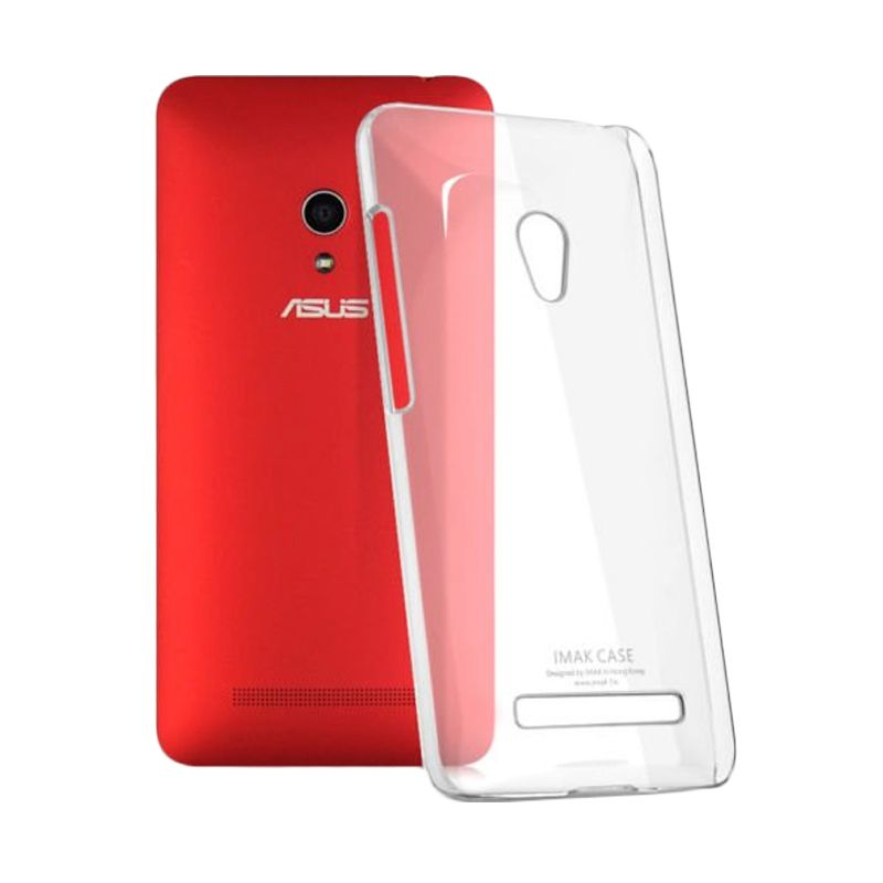 Imak Crystal II Ultra Thin Clear Hardcase Casing for Asus Zenfone 5