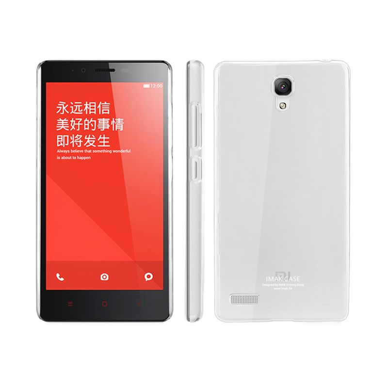 Imak Crystal II Ultra Thin Clear Hardcase Casing for Xiaomi Redmi 2