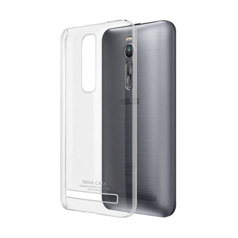 Imak Crystal II Ultra Thin Transparant Hardcase Casing for Asus Zenfone 2 [5.5 Inch]