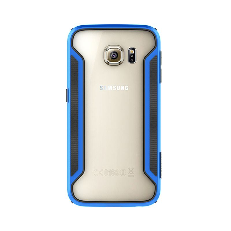 Nillkin Armor Border Bumper Blue Casing for Samsung Galaxy S6 Edge