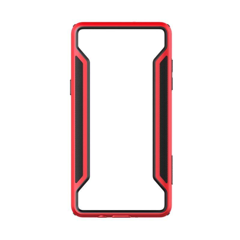 Nillkin Armor Border Bumper Red Casing for Galaxy A5