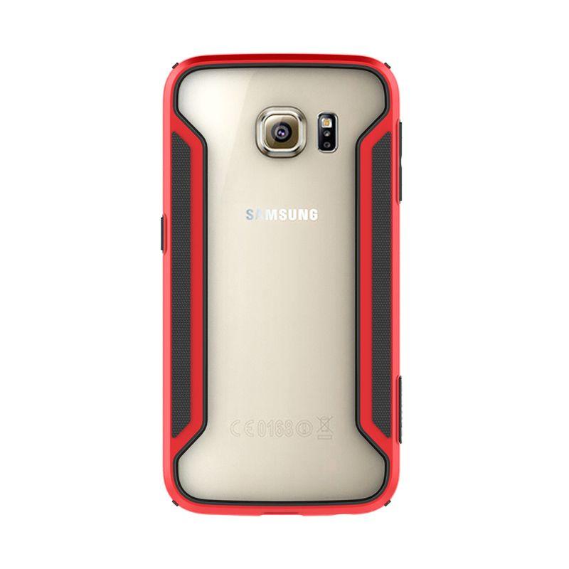 Nillkin Armor Border Bumper Red Casing for Samsung Galaxy S6 Edge