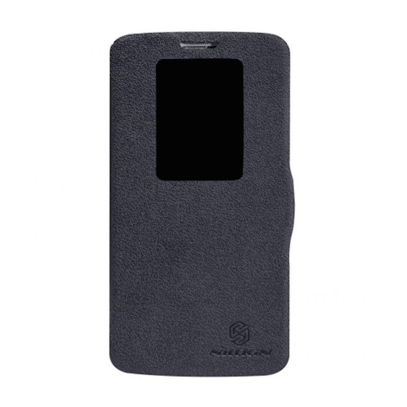 Nillkin Fresh Window Flip Black Casing for LG G2