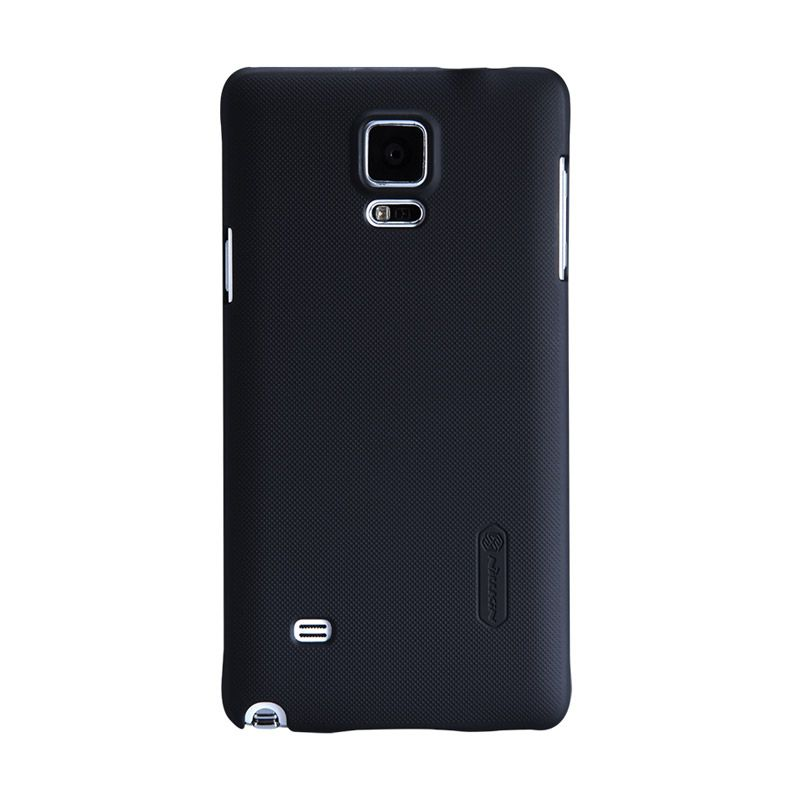 Nillkin Frosted Black Casing For Samsung Galaxy Note 4