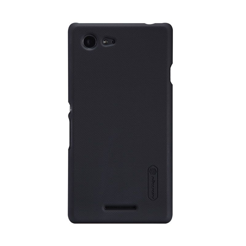 Nillkin Frosted Black Casing For Sony Xperia E3