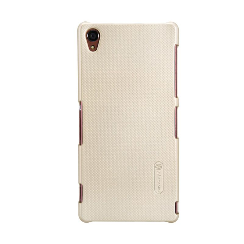Nillkin Frosted Gold Casing For Sony Xperia Z3