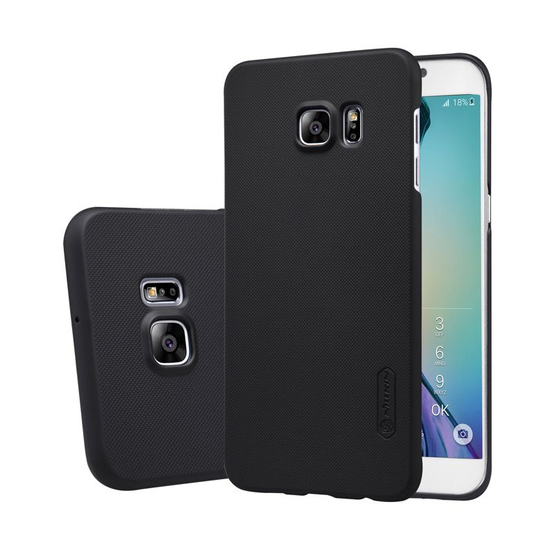 Nillkin Frosted Hard Black Casing for Samsung Galaxy S6 Edge Plus