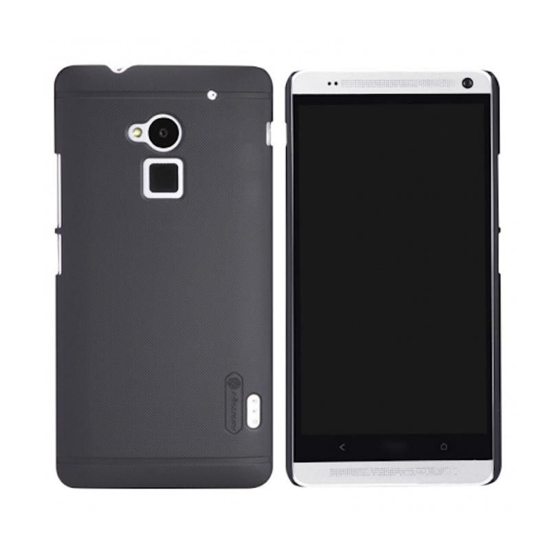 Nillkin Frosted Hard Case Black Casing for HTC One Max 8088