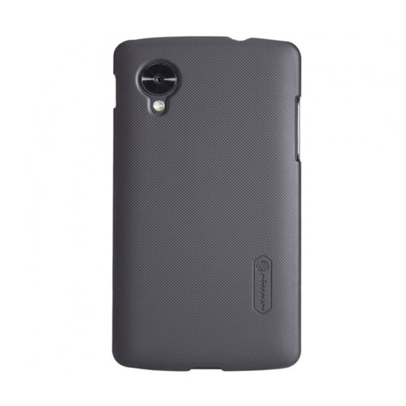 Nillkin Frosted Hard Case Black Casing for LG Nexus 5