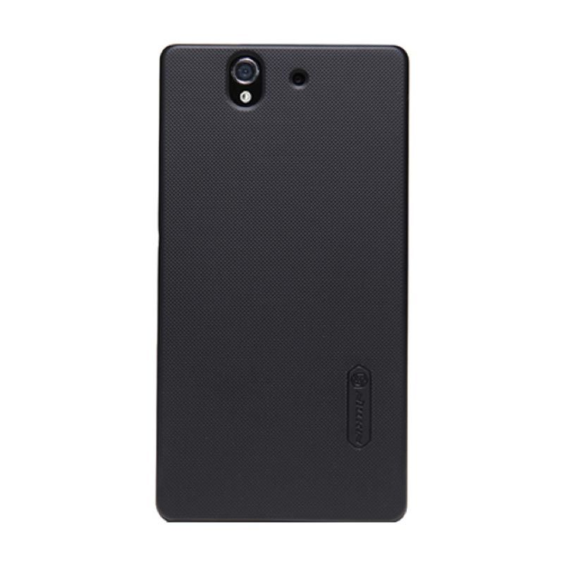Nillkin Frosted Hard Case Black Casing for Sony Xperia Z