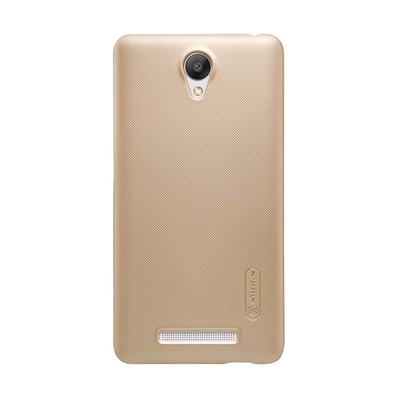 Nillkin Frosted Hard Case Gold Casing for Xiaomi Redmi Note 2