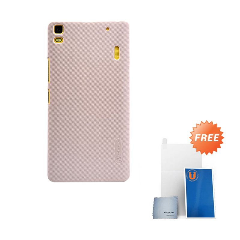 Nillkin Frosted Gold Hard Case Casing for Lenovo A7000