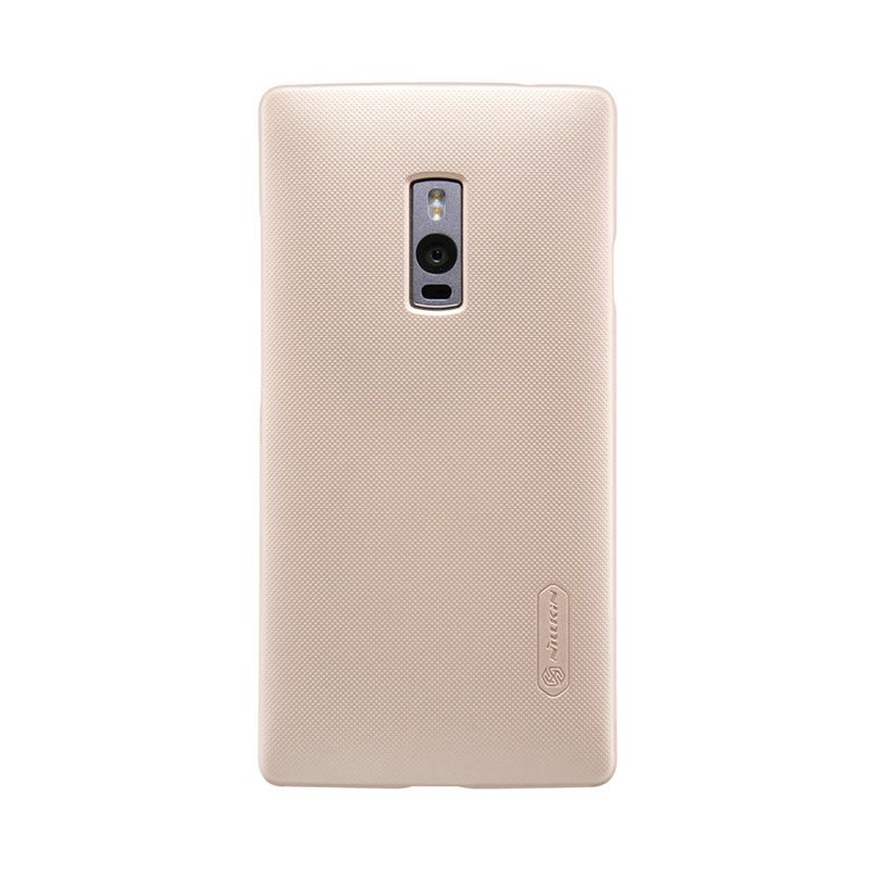 Nillkin Frosted Gold Hardcase Casing for OnePlus 2