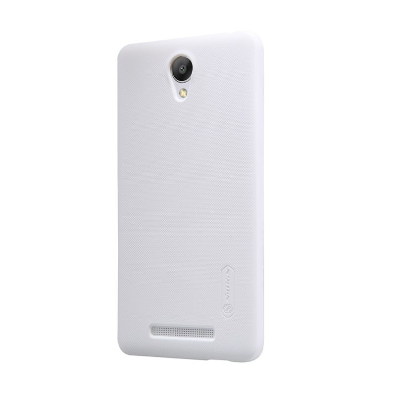 Nillkin Frosted Hard White Casing for Xiaomi Redmi Note 2