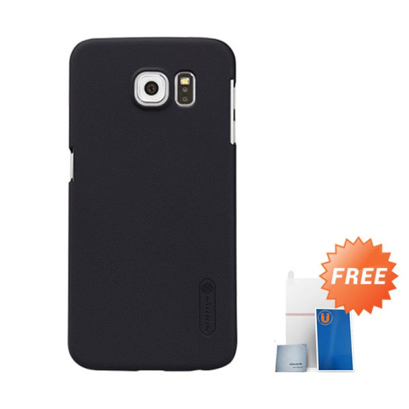 Nillkin Frosted Black Hardcase Casing for Galaxy S6
