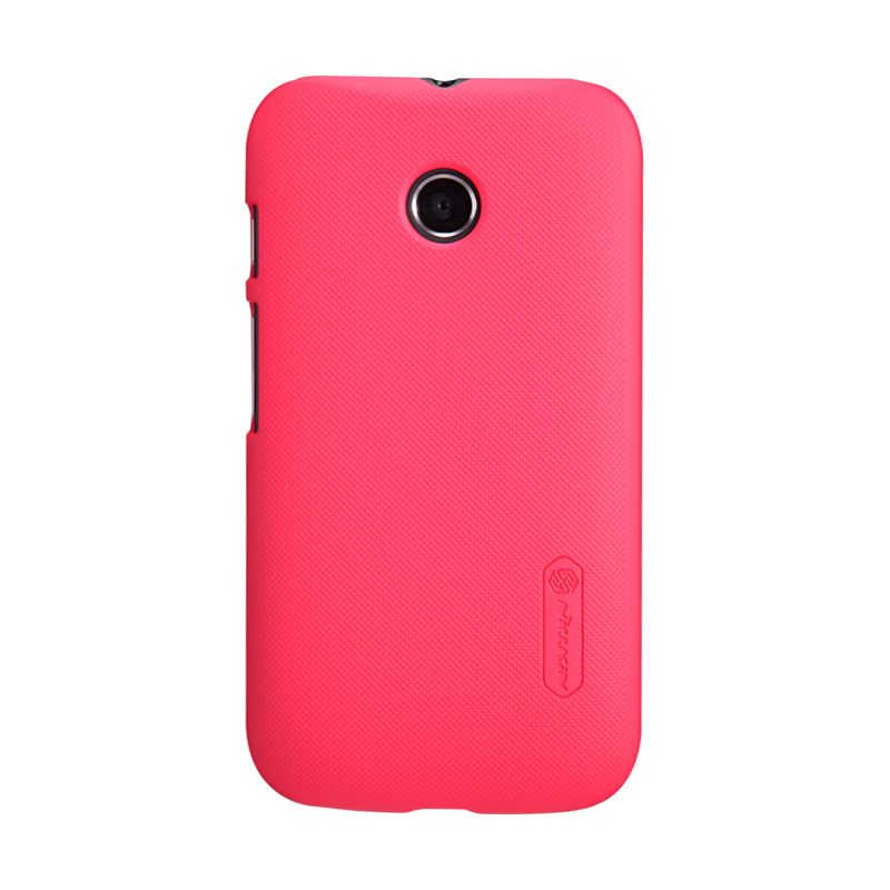 Nillkin Frosted Red Casing For Motorola Moto E