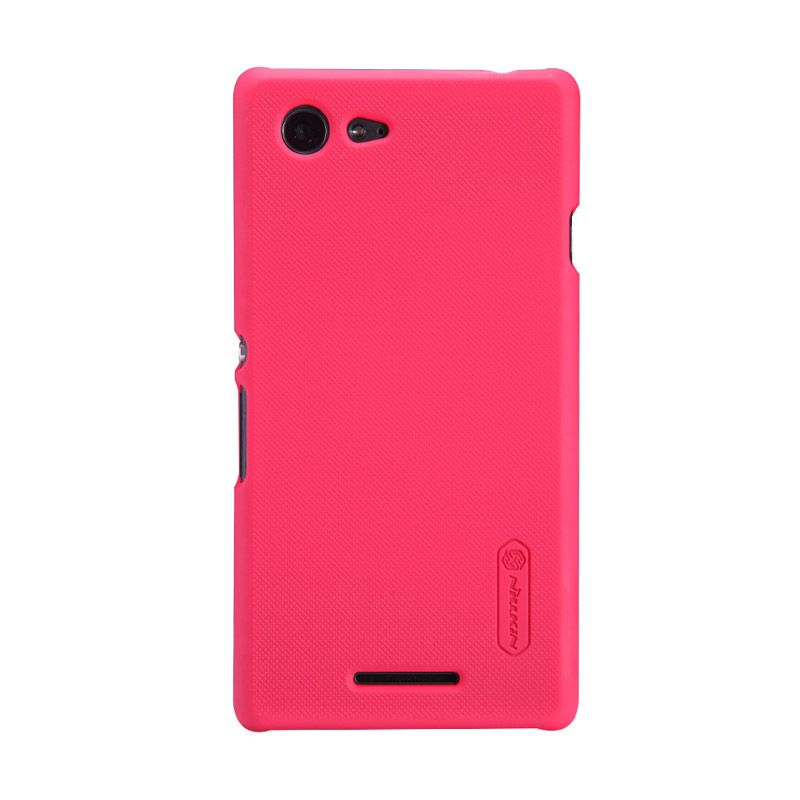 Nillkin Frosted Red Casing for Sony Xperia E3