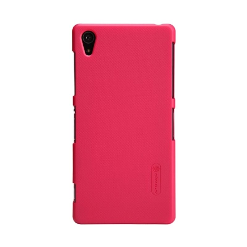 Nillkin Frosted Red Hard Case Casing for Sony Xperia Z2