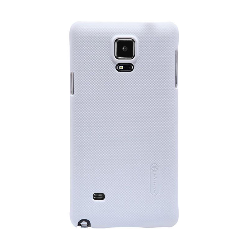 Nillkin Frosted White Casing for Samsung Galaxy Note 4