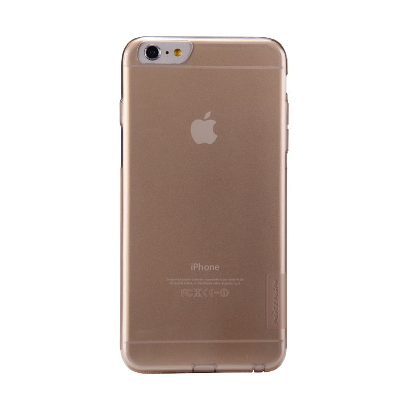 Nillkin Softcase Brown Casing For iPhone 6 Plus