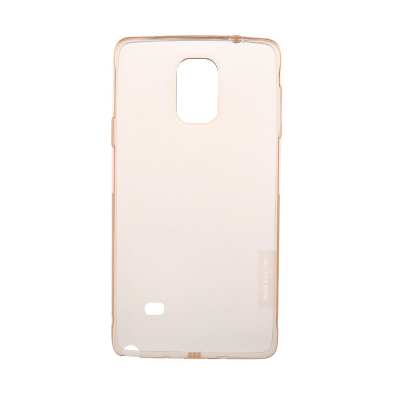 Nillkin Nature Softcase Brown Casing For Samsung Galaxy Note 4