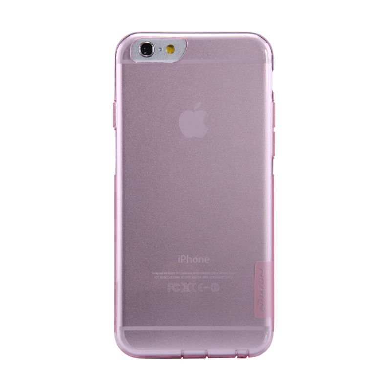 Nillkin Nature Softcase Pink Casing For iPhone 6