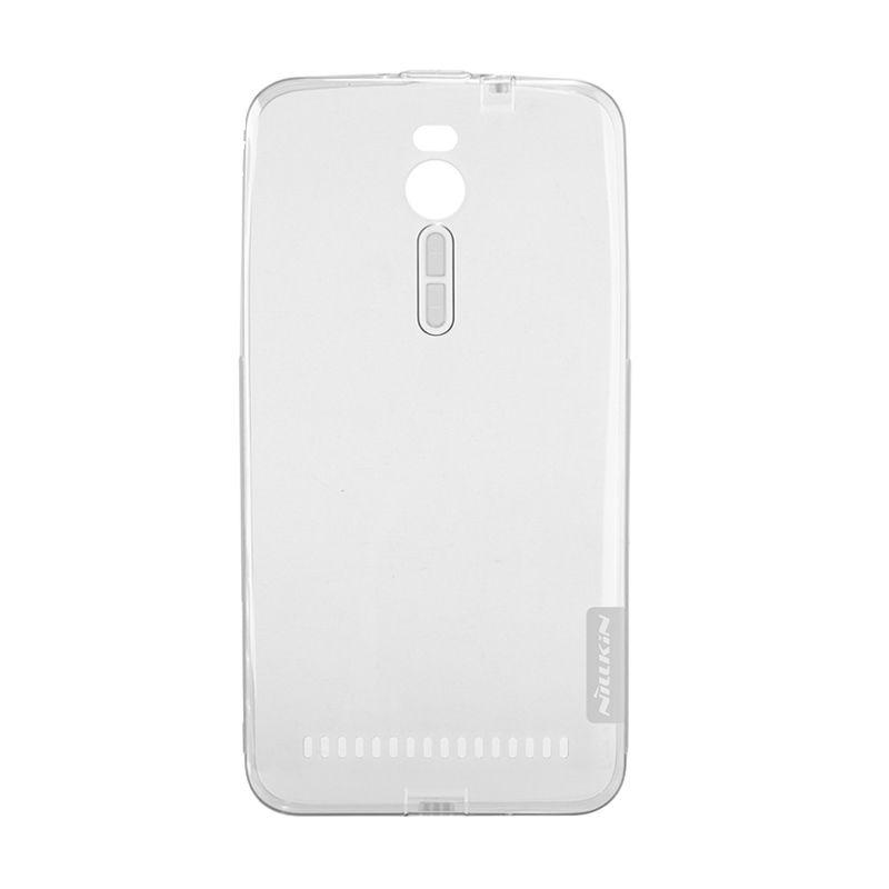 Nillkin Nature TPU Clear Soft Case Black Asus Zenfone 2 [5.5 Inch]