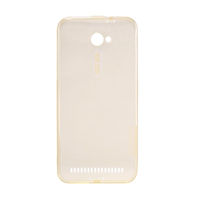 Nillkin Nature TPU Clear Soft Case Brown Casing for Asus Zenfone 2 [5.0 Inch]