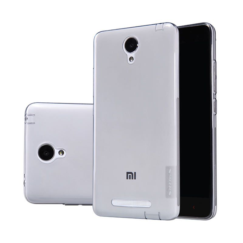 Nillkin Nature TPU Soft Case Grey Casing for Xiaomi Redmi Note 2