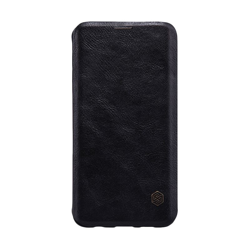Nillkin Qin Leather Flip Case Samsung Galaxy S6 edge+ Black