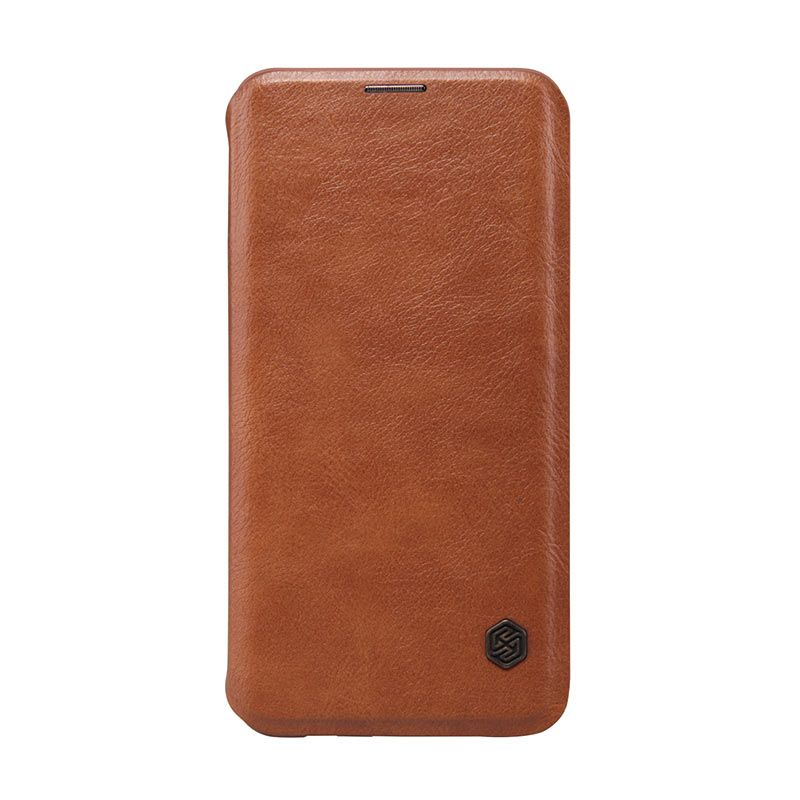Nillkin Qin Leather Flip Case Samsung Galaxy S6 edge+ Brown