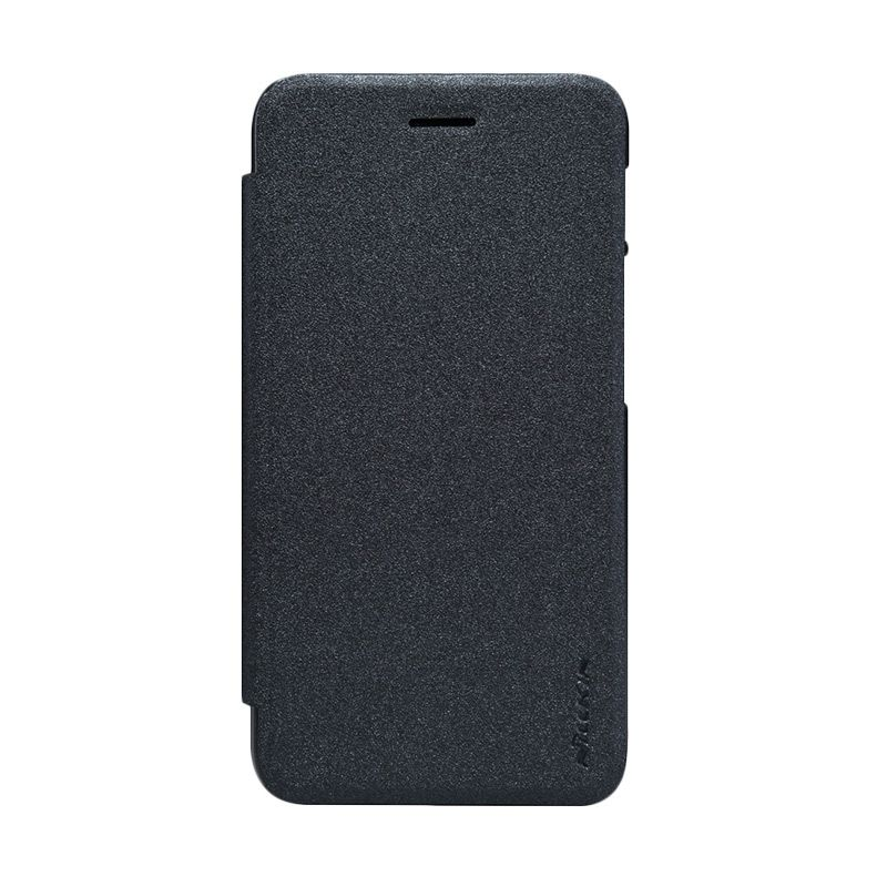 Nillkin Sparkle Black Flip Cover Casing for Asus Padfone S