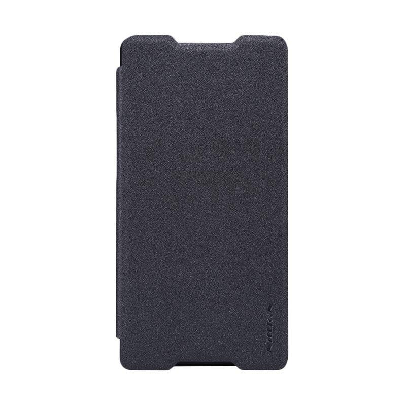 Nillkin Sparkle Black Flip Cover Casing for Xperia Z3 or Z4