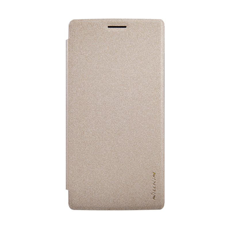 Nillkin Sparkle Gold Flip Cover Casing for OnePlus 2
