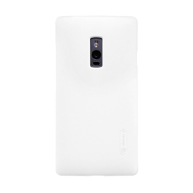 Nillkin Sparkle White Flip Cover Casing for OnePlus 2
