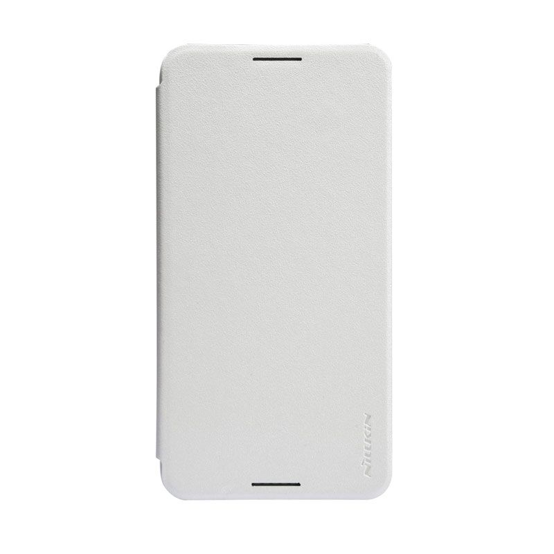 Nillkin Sparkle White Flip Cover Casing for HTC Desire 816
