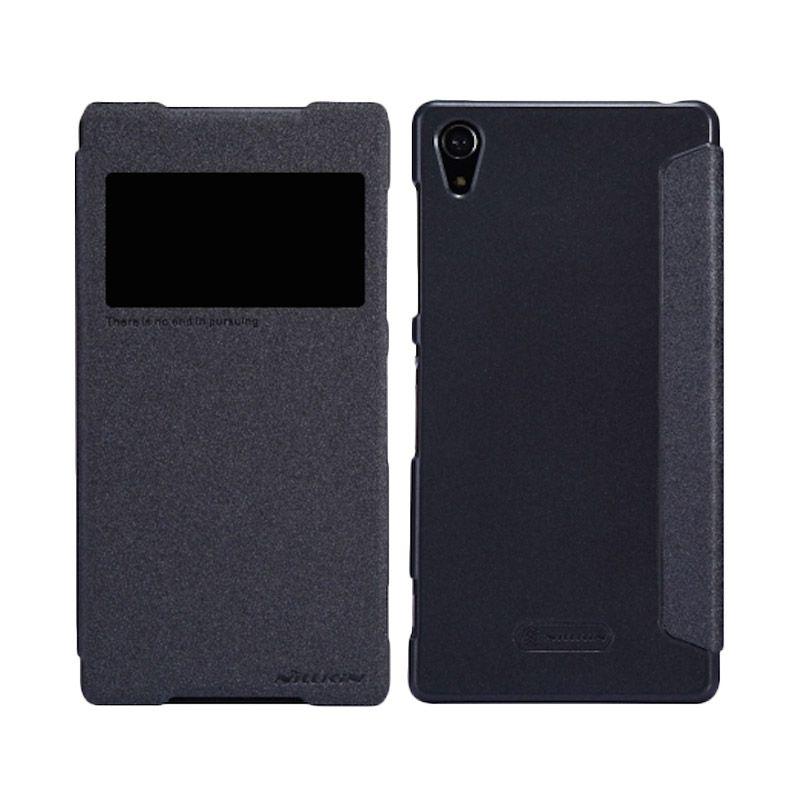 Nillkin Sparkle Window Black Casing for Sony Xperia Z2