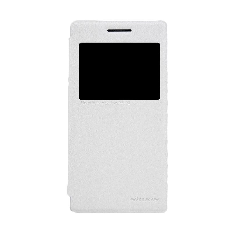 Nillkin Sparkle Window White Flip Cover Casing for Lenovo P70