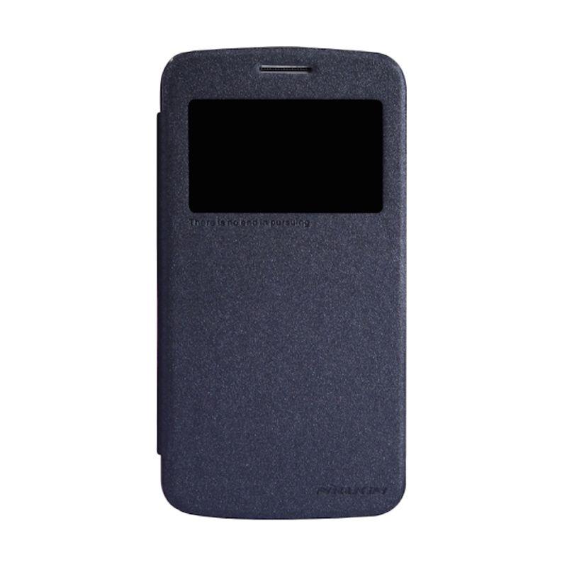 Nillkin Sparkle Window Black Flip Cover Casing for Samsung Galaxy Grand 2