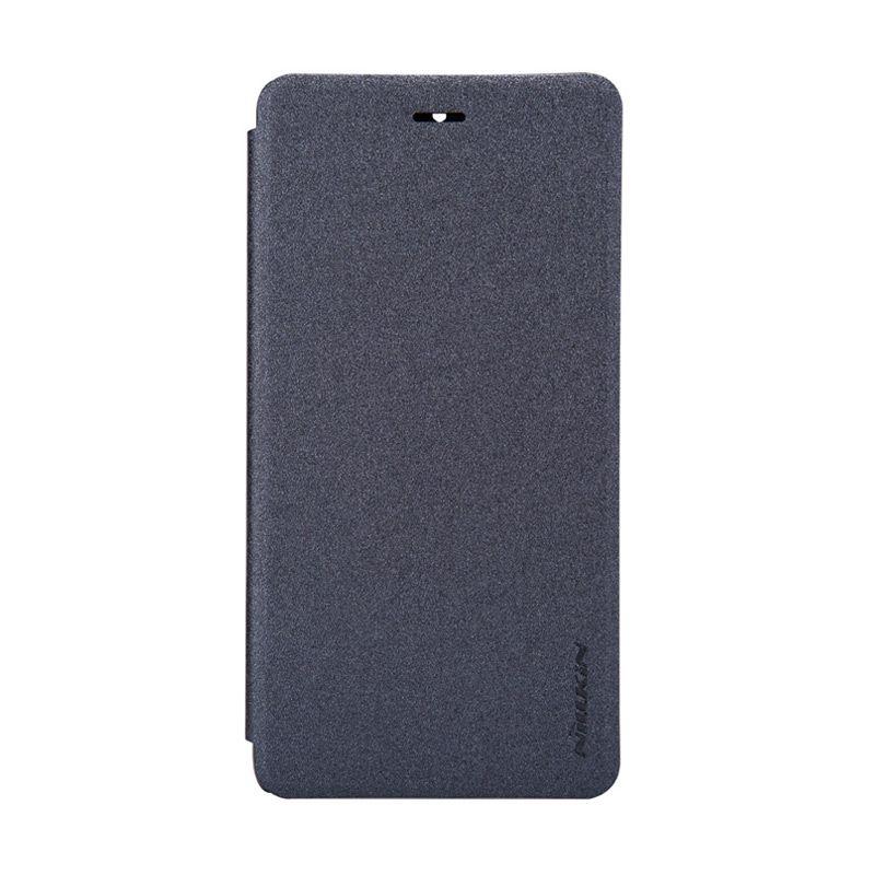 Nillkin Sparkle Window Flip Cover Black Casing for Xiaomi Mi4