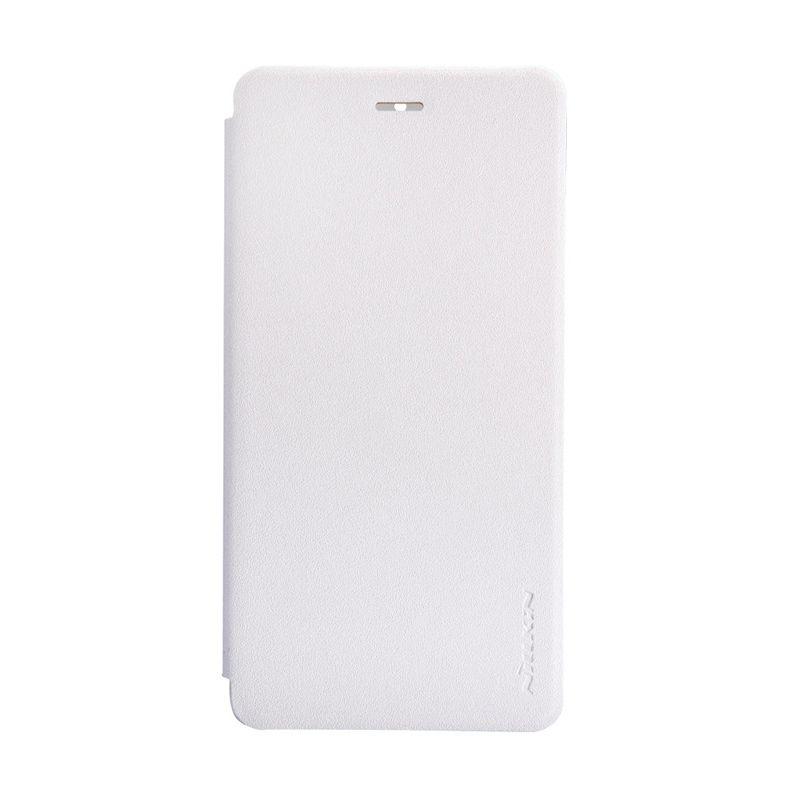 Nillkin Sparkle Window Flip Cover White Casing for Xiaomi Mi4