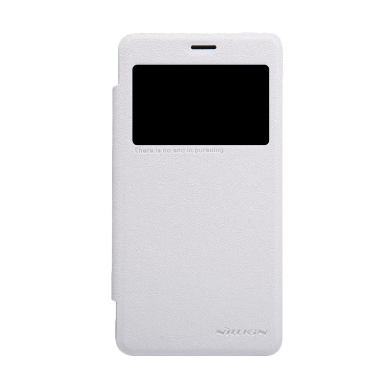 Nillkin Sparkle Window White Flip Cover Casing for Xiaomi Redmi 2