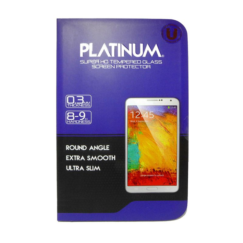 Platinum Tempered Glass Screen Protector for Samsung Galaxy Mega 6.3