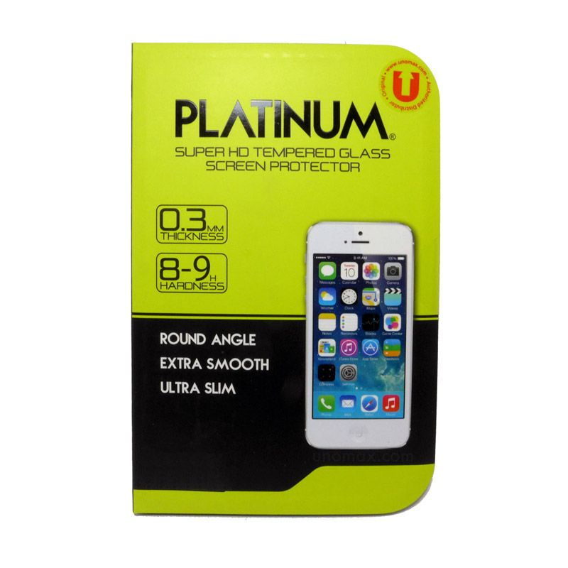 Platinum Tempered Glass Screen Protector for Samsung Galaxy S4 Mini